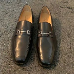New Black Cole Haan Bit Loafers